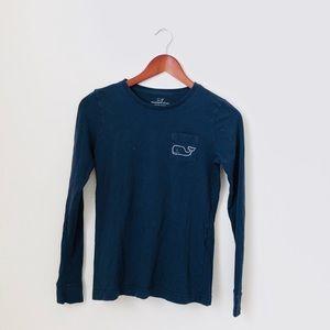 Vineyard Vines•Blue Long Sleeve Shirt